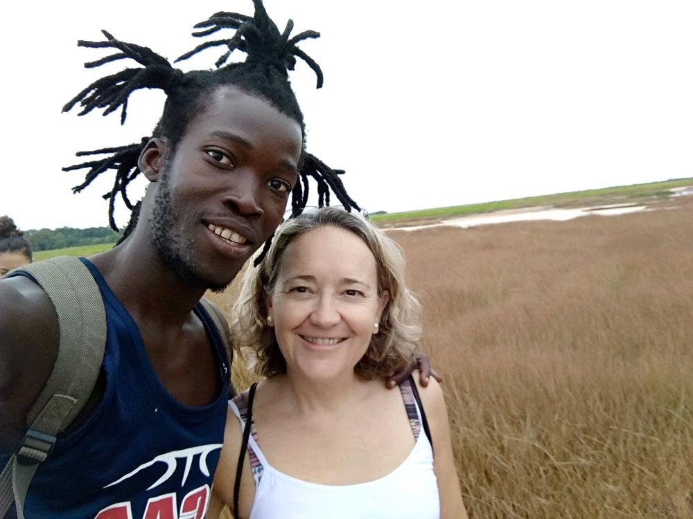 Bakary i Cristina Image at Senegal